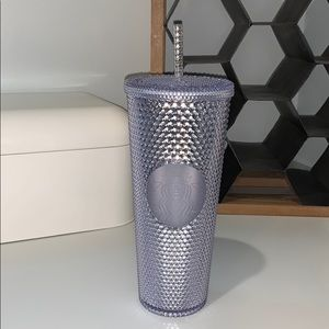Starbucks Silver Faceted 2019 Cup